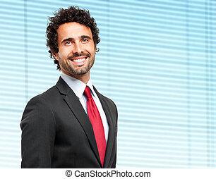Handsome mature businessman portrait
