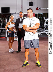 trainer and colleagues