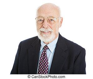 Handsome Senior Executive