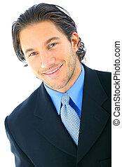 Handsome Smile Businessman