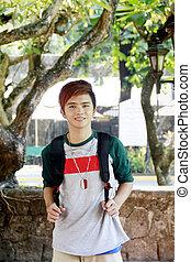Handsome Teen