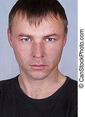 Handsome young man portrait