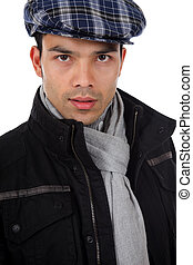 Handsome young nepalese man