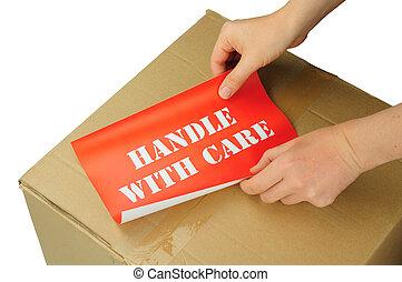 handtag, omsorg
