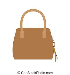 handväska, mode, isolerat