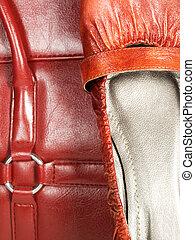 handväska, skor