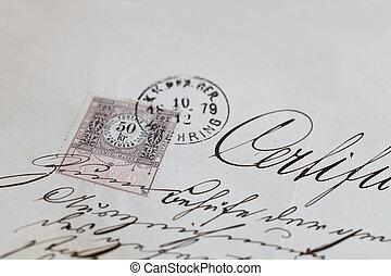 Handwriting Certificate