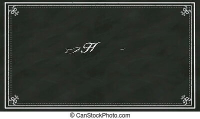 Handwriting concept of 'HAPPY VALENTINE'S DAY' at...