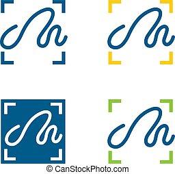 Handwriting input icons