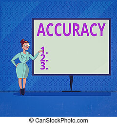 Handwriting text writing Accuracy. Concept meaning degree of...