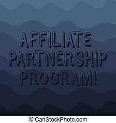 Handwriting text writing Affiliate Partnership Program....