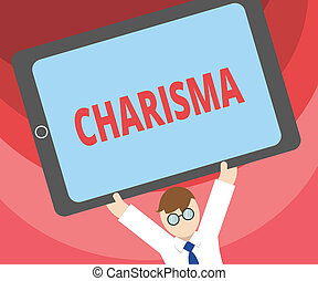 Handwriting text writing Charisma. Concept meaning ...