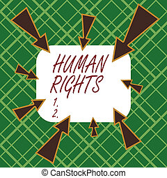 Handwriting text writing Huanalysis Rights. Concept meaning ...