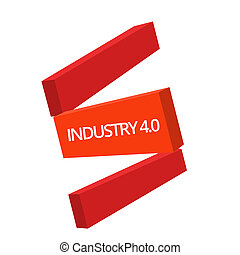 Handwriting text writing Industry 4.0. Concept meaning ...