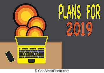 Handwriting text writing Plans For 2019. Concept meaning an ...