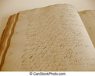 Handwritten Book II