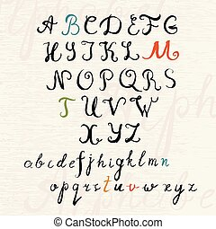 Handwritten Brush Style Calligraphy Font