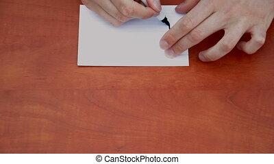 Handwritten By T/T - Handwritten words By T/T on white paper...