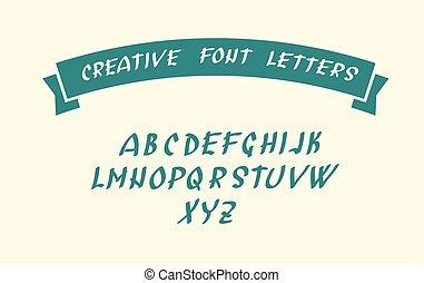 handwritten, chrzcielnica, litera, symbolika