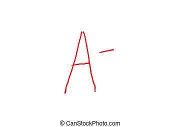 Letter Grade A-