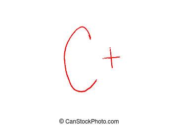 Letter Grade C+