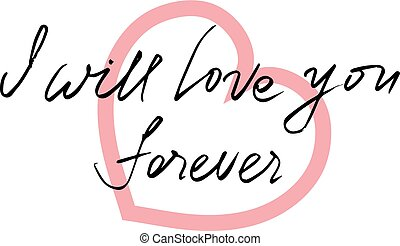i will love you forever clip art vector and illustration 5 i will rh canstockphoto co uk I Love You Animated Clip Art I Love You Valentine Clip Art