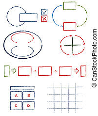 handwritten symbols