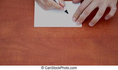 Handwritten word Copy