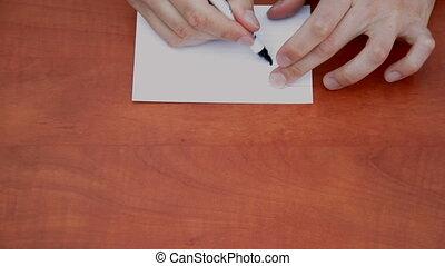 Handwritten word Die
