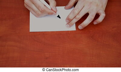 Handwritten word Go