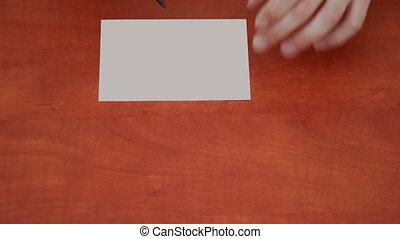 Handwritten word Job