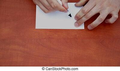 Handwritten word On