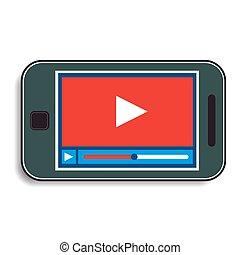 handy, video, aufpassen