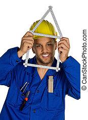 handyman, ∥で∥, ヘルメット