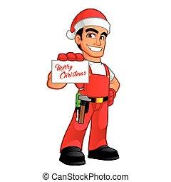 handyman, クリスマス
