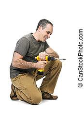 handyman, ドリル