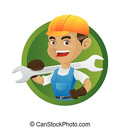 handyman, レンチ, 保有物