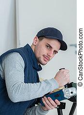 handyman at work