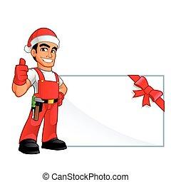 Handyman Christmas