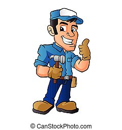handyman stock illustrations 10 918 handyman clip art images and rh canstockphoto com handyman clipart free download clipart handyman services