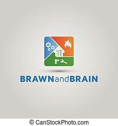 Handyman home repairs and maintenance logo