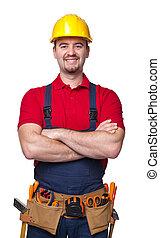 handyman, portrair