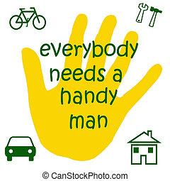 handyman, tegn