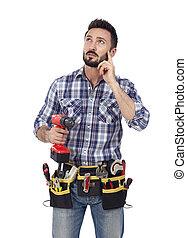 Handyman thinking