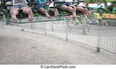 Hang Gliding Ride at Fair