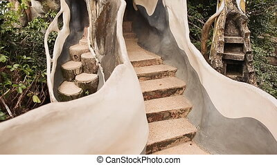 Hang Nga Guesthouse Crazy House, design Interior and...