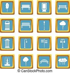 Hangar icons azure