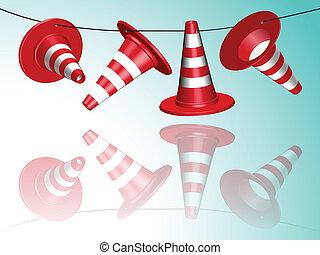 hanged cones