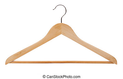 hanger isolated on a white background