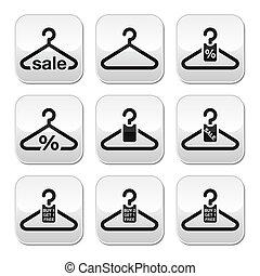 Hanger, sale, buy 1 get 1 free butt